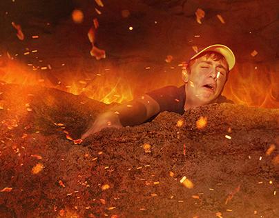 Fiery Photoshops