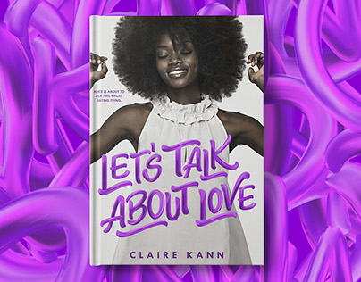 Let's Talk About Love Cover Lettering