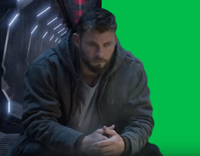 Thor | End Game | Marvel | Rotoscoping | Green Screen