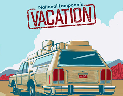 """Vacation"" Vector Fan Art"