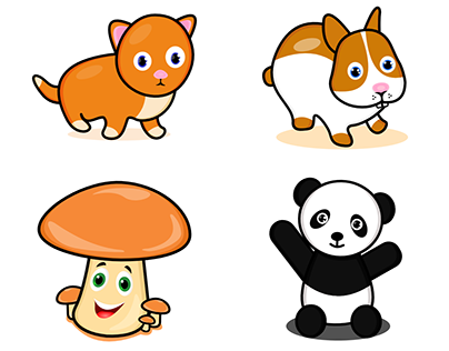 Cute Characters Mascot