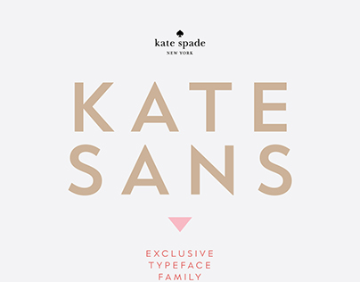 Kate Spade - Custom Typeface
