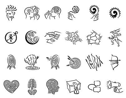 45 icons and illustrations sets (2018-2020)