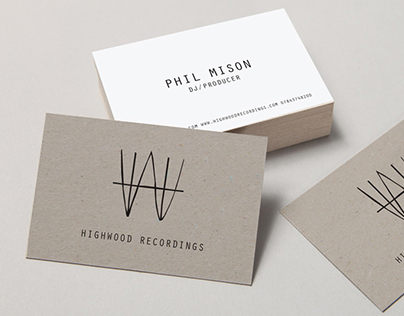 Highwood Recordings Identity