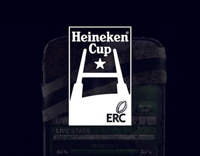 Heineken Cup Rugby - iPhone App