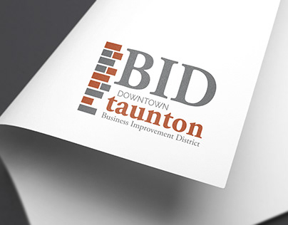 DOWNTOWN TAUNTON LOGOS // REDESIGN