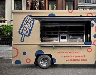 Popsart - Foodtruck et emballage