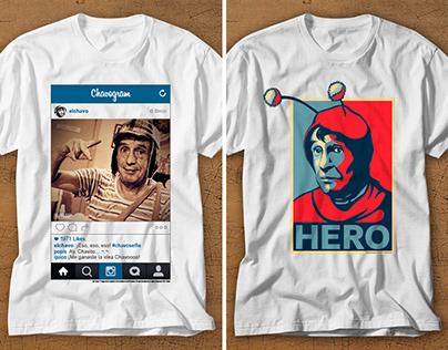El Chavo y El Chapulín Colorado Tshirt Design (USA)