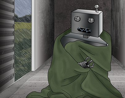 Even Robots Need Blankets
