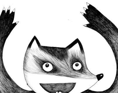 Animal Ballpoint Pen Doodles