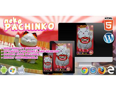HTML5 Game: Neko Pachinko