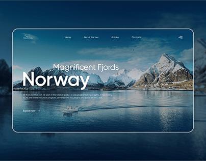 Travel Company — Norway Website