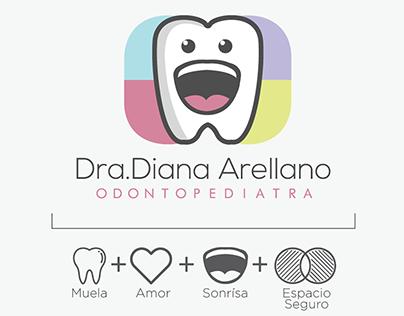 Branding - Dra. Diana Odontopediatra