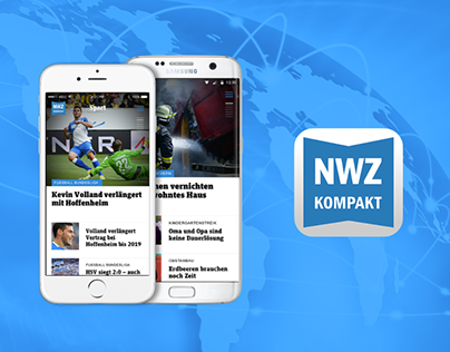 NWZ kompakt News App iOS & Android