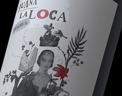 Branding and Packaging design for JUANA LA LOCA