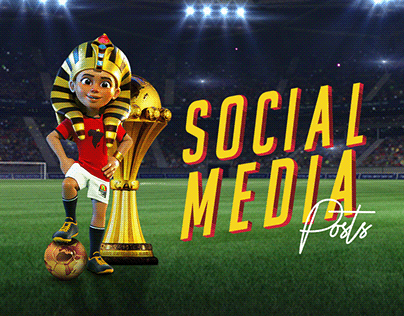 Africa cup of nations 2019 - Social Media Posts