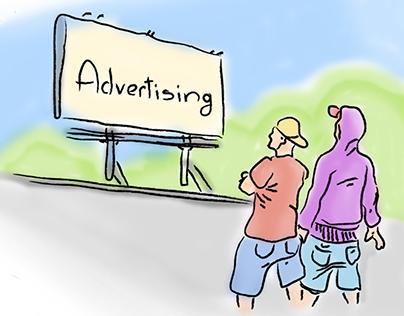Advertising App Concept