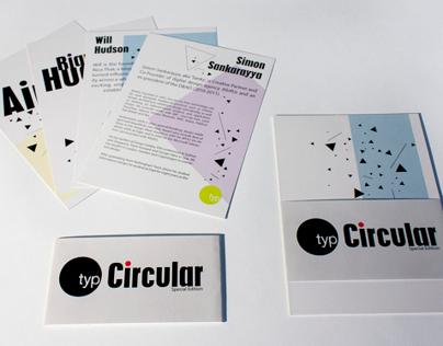 Typographic Circle 'Circular' magazine special edition