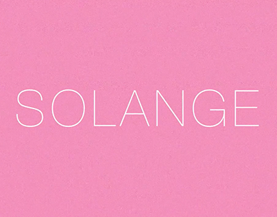 SOLANGE - Video teaser