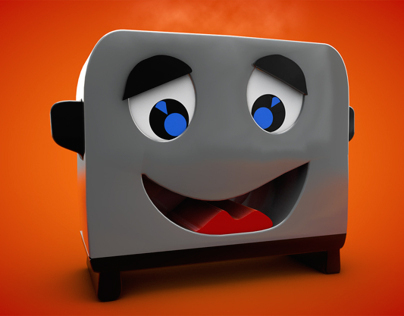 Brave Little Toaster Projects Photos Videos Logos Illustrations And Branding On Behance