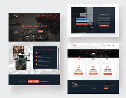 Automobile Parts Web Design