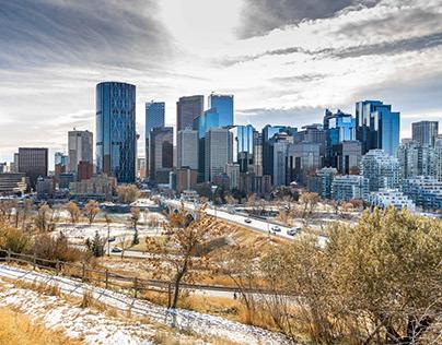 Landscape Photography of Calgary, Canada