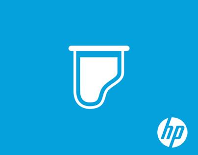 Icons for HP Digital Printer