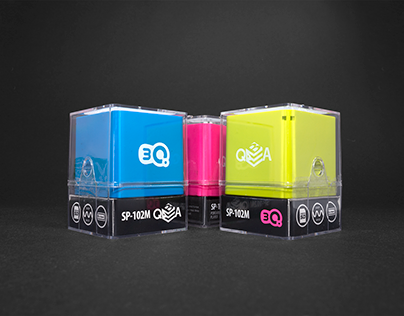 3Q QBA portable speaker packaging