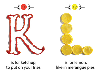 The Little Chef's Guide to the Alphabet