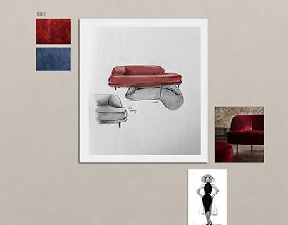 Grace sofa for Bolia