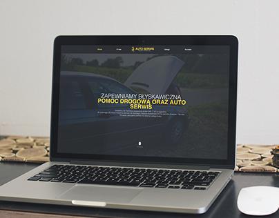 Car Service Centre | landing page
