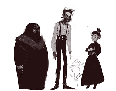 Characters for my personal lovecraftian project