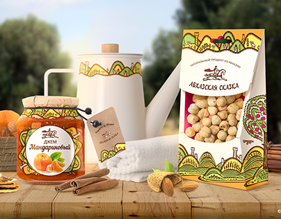 Package design of nuts and dried fruits