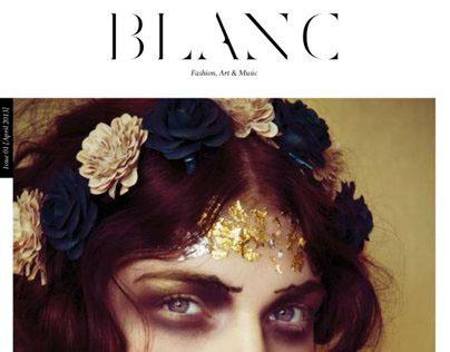 BLANC Magazine cover story