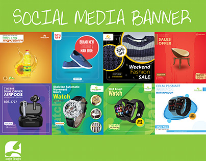 Smartwatch Banner | Social Media Banner | Web banner