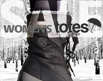 Ladies Winter Boots Poster