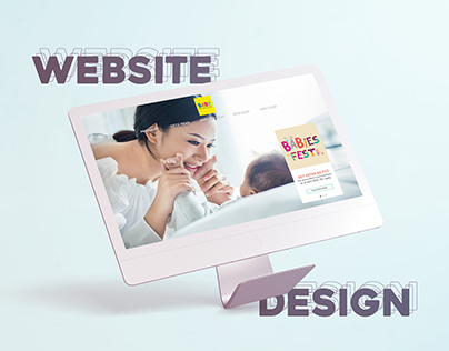 Baby Company • Website Design