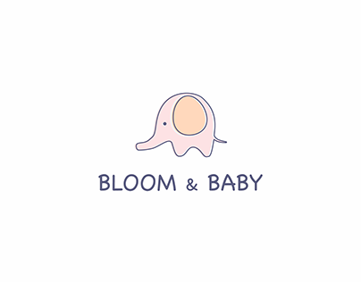 Daily Logo Challenge (Day 46) - Baby Apparel Brand