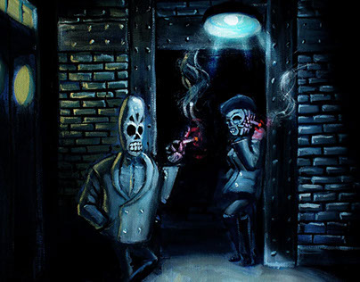 Grim Fandango Art Contest