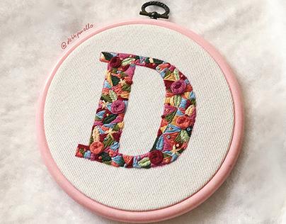 bordado livre   handmade embroidery