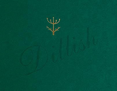 Dillish - Brand identity