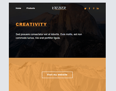 Email Template 2(Mailchimp)