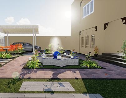 Andalusian landscape design-SALEM KHAMIS-Fujairah2020
