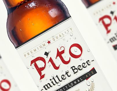 PITO Millet Beer Label - sneak peek