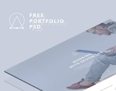 Startup Studio Landing Page ~ FREE PSD ~