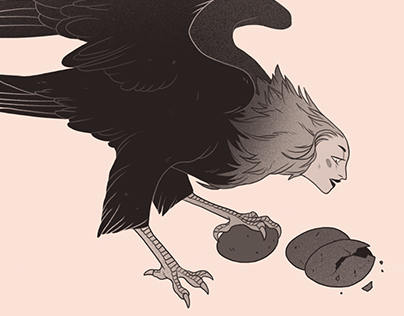 Inktober Monsters 2017