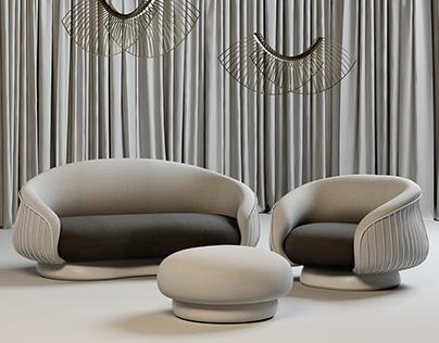 Fance sofa