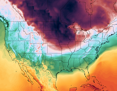 Temperature map rendering in D3.js