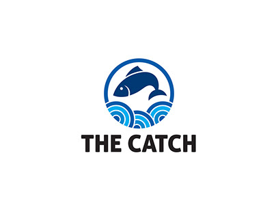 "LOGO DEVELOPMENT FOR CLIENT "" THE CATCH"""