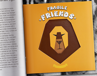 Fragile Friends book design&poster